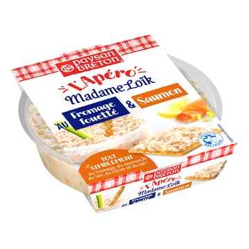 Paysan Breton Fromage Lt Past.à Tartiner Saumon Mme Loik, 22%mg, 120g