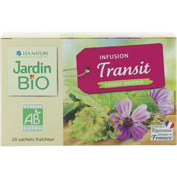 Infusion JARDIN BIO, Transit Saveur pomme, x20