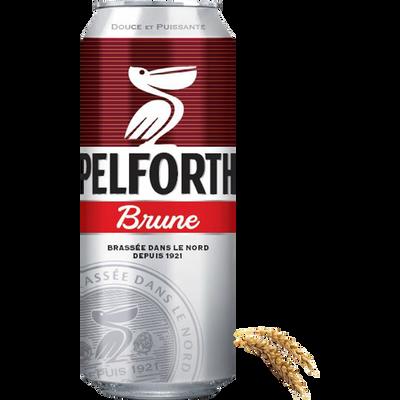 Bière brune PELFORTH, 6,5°, 50cl