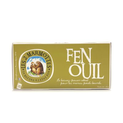 INFUSION FENOUIL MARMOTTES