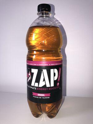 1L ZAP ORIGINAL ENERGY DRINK à base de caféine et taurine
