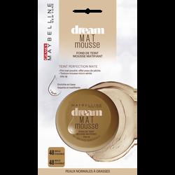 """Fond de teint """"Dream matte mousse"""" n°48 beige ensoleillé - blister MAYBELLINE"""
