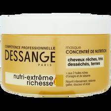 Masque capillaire Nutri-Extreme Richesse JACQUES DESSANGE, 250ml