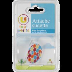 ATTACHE-SUCETTE AVEC RUBAN U TOUT PETITS