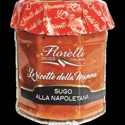 Sauce Napoletana tomate aux légumes FLORELLI, 200g