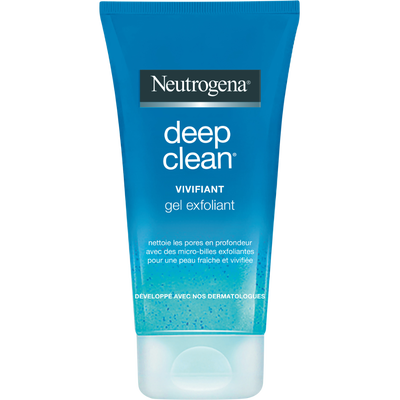 Gel exfoliant vivifiant Deep Clean NEUTROGENA, 150ml