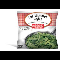 Les légumes verts PAYSAN BRETON, sachet de 750g