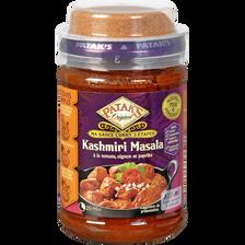 Sauce curry 3 étapes masala PATAK'S, bocal de 277g