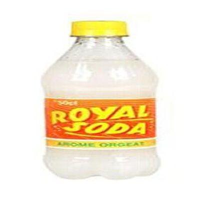 Boisson gazeuse, parfum orgeat, ROYAL SODA 50cl