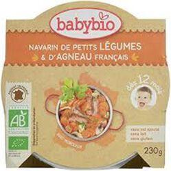 Ass navarin de petits légumes d' agneau français BABYBIO dès 12 mois 230g