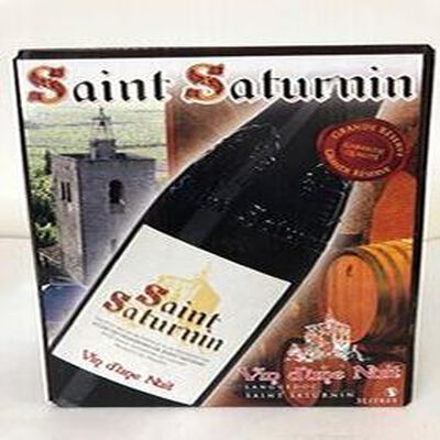 AOP Saint Saturnin Vin d'une nuit rouge 3L