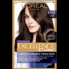Coloration permanente brunettes EXCELLENCE châtain profond 400