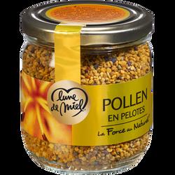 Pollen en pelotes LUNE DE MIEL, pot en verre de 250g