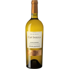 Languedoc AOP Grenache Marsanne Viognier blanc CAP INSULA, bouteille de 75cl