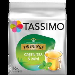 Thé vert à la menthe TASSIMO 40g