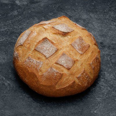Boule polka froment, 1 pièce, 400g
