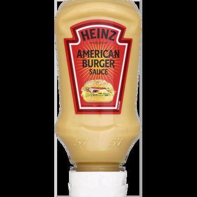 Sauce American burger HEINZ, flacon souple de 220ml