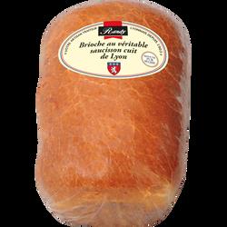 Brioche au véritable saucisson cuit de Lyon RANDY 800g grand format