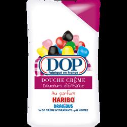 Douche crème douceurs d'enfance bonbons multicolores DOP, flacon de 250ml