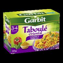 Taboulé oriental curry et coriandre GARBIT, étui de 525g