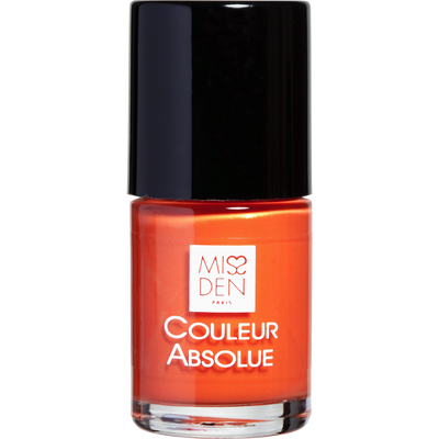 Vernis à ongle orange tentation 089 MISS DEN, nu