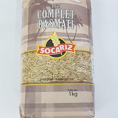 Riz complet basmati SOCARIZ, le paquet de 1Kg