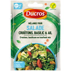 Croûtons basilic & ail DUCROS sachet 18g