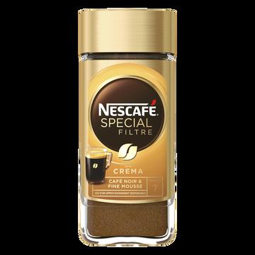 Nescafé Café Soluble Spécial Filtre Fine Crema Nescafe, 100g