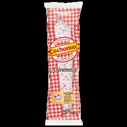 Saucisson sec pur porc Le Généreux COCHONOU, 365g