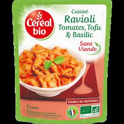 Ravioli tofu basilic bio, 267g