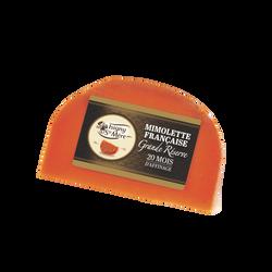 Mimolette extra vieille au lait pasteurisé ISIGNY grande réservere, 29%mg, 200g