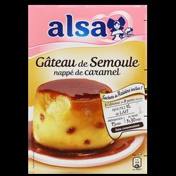 Préparation pour gâteau de semoule ALSA, 2 doses, 414g