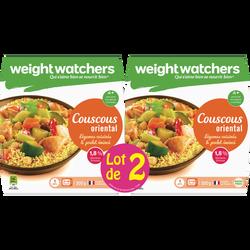 Couscous oriental aux légumes cuisinés et poulet émincé  WEIGHT WATCHERS, 2x300g