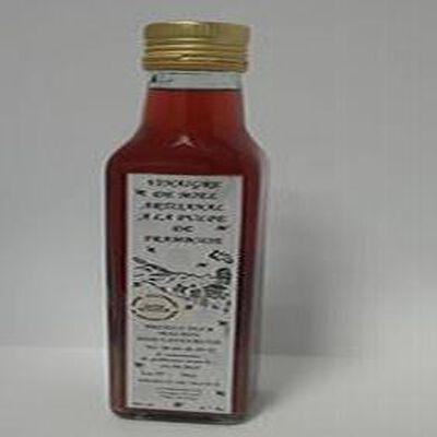 Vinaigre de miel artisanal à la pulpe de framboise, 250ml