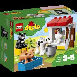 LEGO® DUPLO® - Les Animaux de la Ferme - 10870 - Dès 2 ans