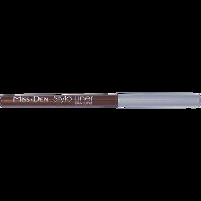 Stylo liner brun ecorce, MISS DEN