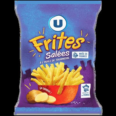 Biscuits apéritifs frite U, paquet de 80g