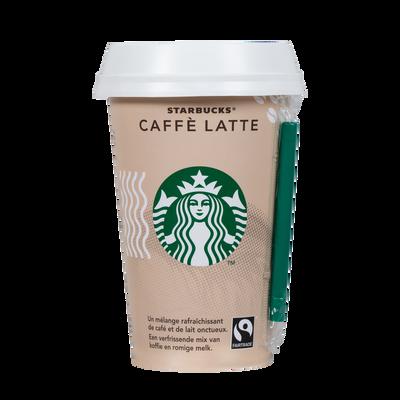 Boisson lacté café Seattle latte STARBUCKS, bouteille de 220ml