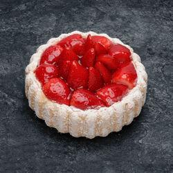 Charlotte aux fraises décongelé, 6 parts, 805g