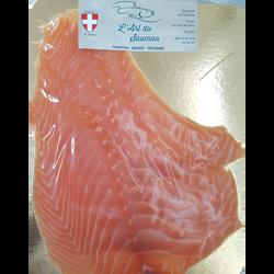 Saumon fumé d'Atlantique sélection 4 tranches ANDRIC, 200g