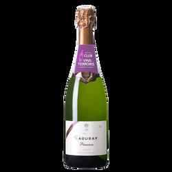 CLUB DES VINS & TERROIRS vin Saumur AOP brut Mademoiselle Ladubay premium , 75cl