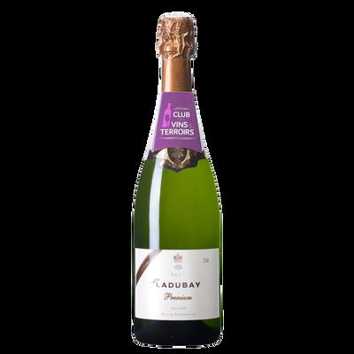 CLUB DES VINS & TERROIRS vin Saumur brut Mademoiselle Ladubay premium,75cl