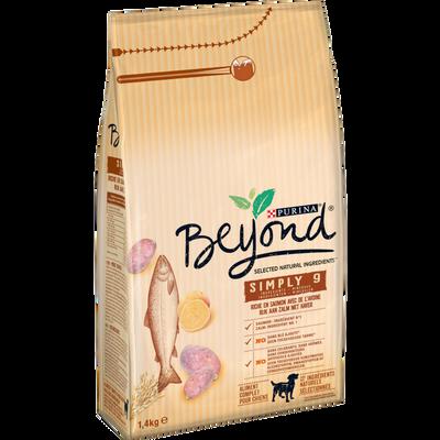 Croquettes pour chiens adultes au saumon BEYOND, sac de 1,4kg