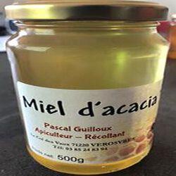 Miel d'acacia, PASCAL GUILLOUX, pot en verre de 500g