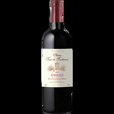 """Vin rouge AOP Bordeaux """"Château tour de Barbereau"""", 75cl"""