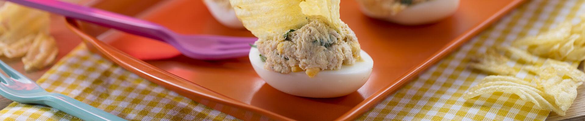 Barquettes aux œufs et au thon