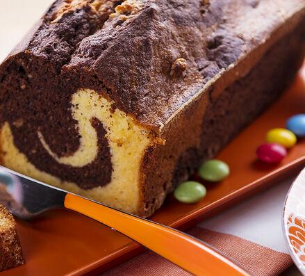 Gâteau marbré