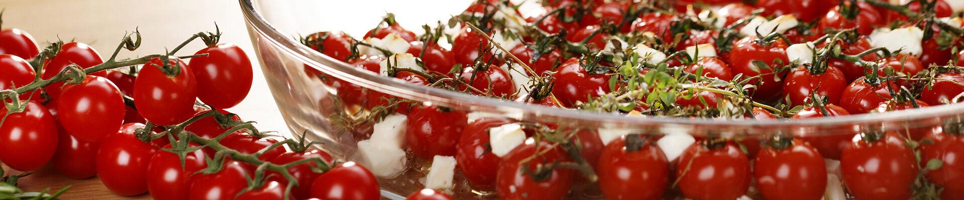 Tomates cerises au four à la feta