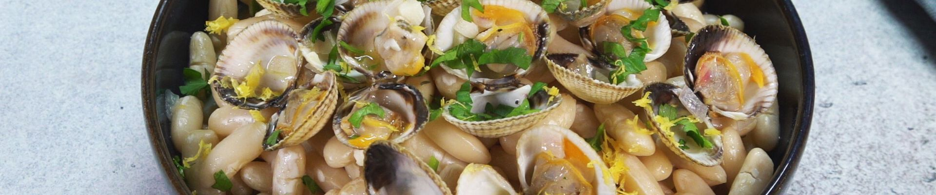 Mogettes de Vendée aux coques