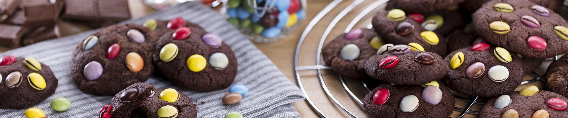 Cookies arlequin